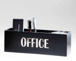 Kit escritório Paper - Preto
