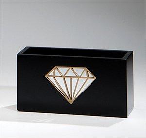 Porta controle Diamond - Preto