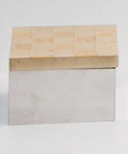 Caixa p/ algodão Giuli - Bege