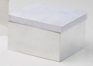 Caixa p/ algodão Giuli - Branco