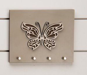 Porta chaves Royal - Borboleta
