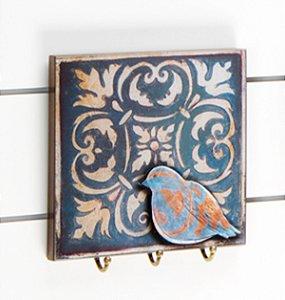 Porta chaves Blue Bird