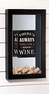 Quadro p/ rolhas Wine Club