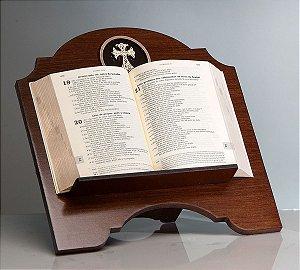 Suporte p/ Bíblia - Cruz Dourada