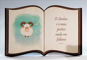 Livro decorativo Reflexões - Ovelha