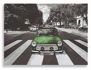 Placa Mini Cooper Verde