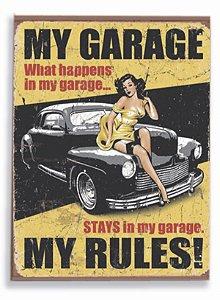 Placa Hot Garage