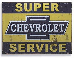 Placa Serviço Chevrolet