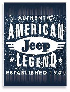 Placa Jeep America