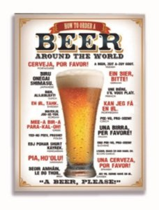 Placa Beer Around The World