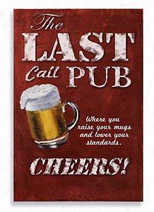 Placa Last Pub
