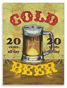 Placa Cold Beer