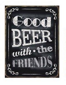 Placa Good Beer