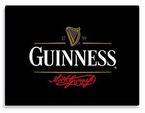 Placa Guinness Atual