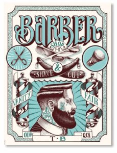Placa Barber Shop