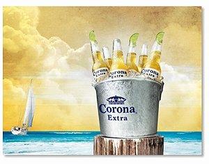 Placa Corona Balde