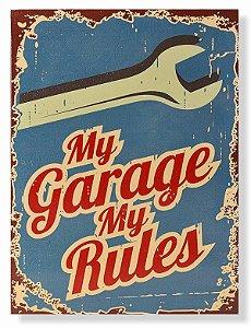Placa My Garage