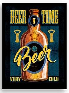 Placa Beer Time