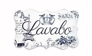 Placa Lavabo Paris G