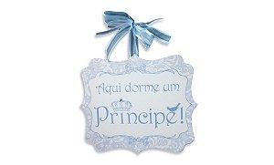 Placa Príncipe Laços