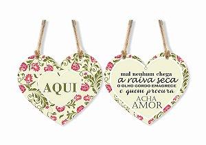 Mobile Coração Acha Amor