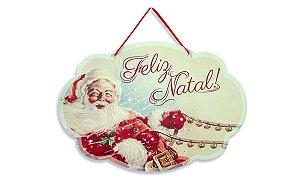 Placa Feliz Natal Rédeas