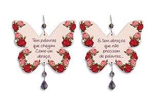 Mobile Borboleta Rosas