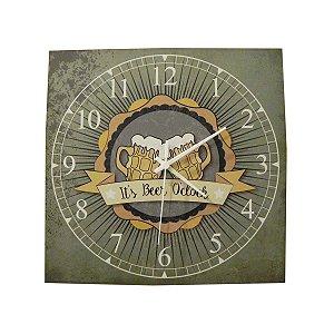 Relógio Quadrado Canecos