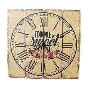 Relógio Sweet Home Flores