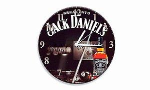 Relógio Jack Daniel´s Sinuca