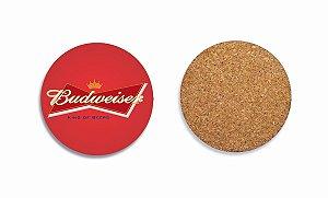 Porta Copos Budweiser Logo