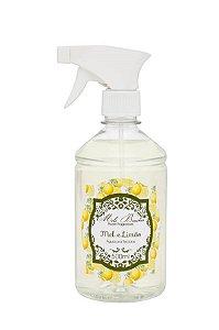 Água perfumada p/ tecidos Mel e Limão 500ml