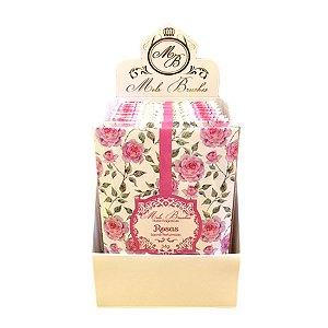Sachê perfumado Rosas 34g - 10 unidades