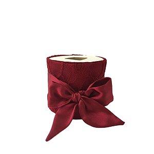 Porta Papel Natal Vermelho