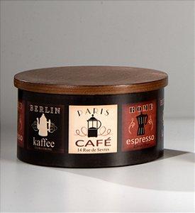 Caixa p/ cápsulas Café