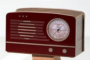 Porta controle Rádio Rubi - 5 divisórias