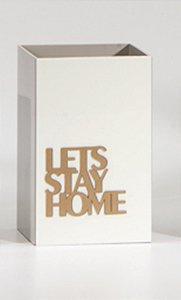 Porta controle Stay Home - Pergaminho