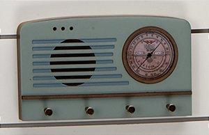 Porta chaves Rádio - Aroeira