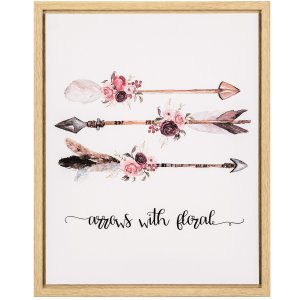 Quadro Arrows With Floral
