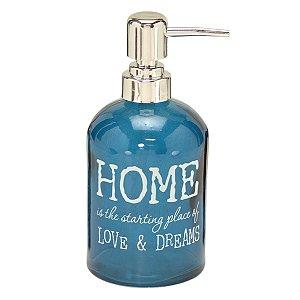 Porta sabonete líquido Home Azul