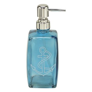 Porta sabonete líquido Âncora Azul