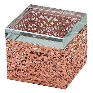 Caixa Quadrada Rosé