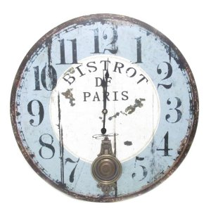 Relógio Parede Bistrot Paris