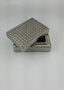 Caixa Quadrada Silver P