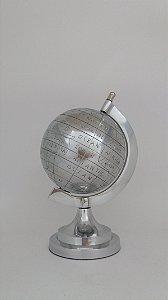 Globo Prata Decorativo 22cm