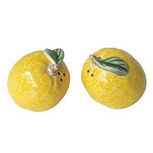 Conjunto Saleiro e Pimenteiro Lemon Amarelo