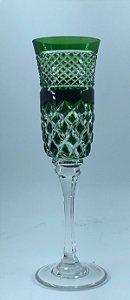 Taça p/ Champagne Verde