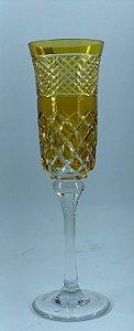 Taça p/ Champagne Amarelo