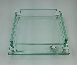 Porta Guardanapo Cristal 21cm