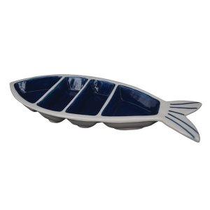 Petisqueira Peixe c/ 3 Divisórias